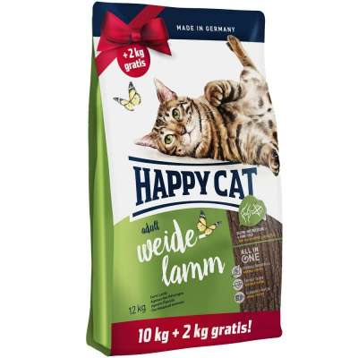 Happy Cat Supreme Farm Lamb 12 kg