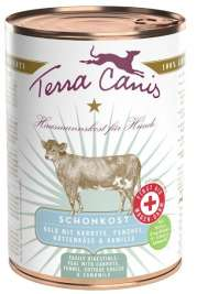 First Aid - Gastrointestinal Menu, Veal with Carrot, Fennel, Cottage Cheese and Camomile Terra Canis 4260109624354