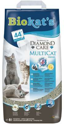 Biokat's Diamond Care Multicat Fresh 8 l