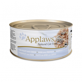 Natural Cat Food Thunfischfilett & Käse von Applaws 70 g EAN: 5060122490061