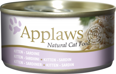 Applaws Natural Cat Food Kitten Sardine 70 g