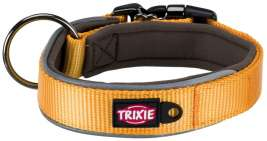 Trixie Experience Halsband, extra breed  Geel