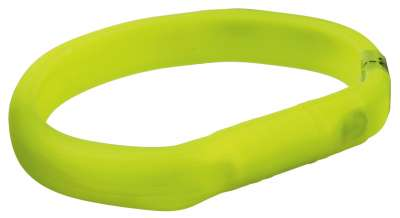 Trixie USB Flash Light Collar Verde 70x1.8 cm