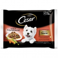 Portionsposer, Selection in Sauce 4x100 g fra Cesar