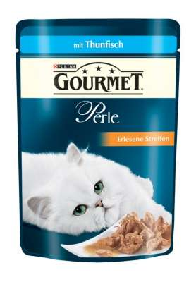 Purina Gourmet Perle Mini Filets in Gravy with Tuna Pouch 85 g