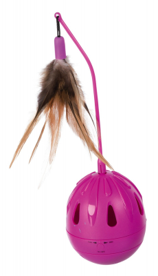 Trixie Pop-up Egg, Plastic Berry 24  cm