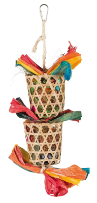 Trixie Natural Toy on a Sisal Rope Multicolor 35 cm