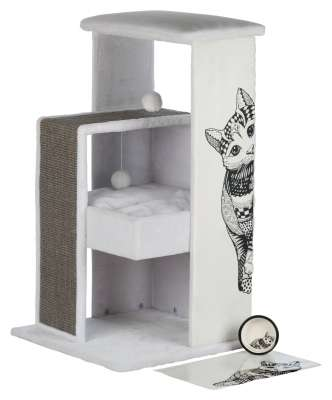 Trixie Maria Scratching Post Grey 58×58×101 cm