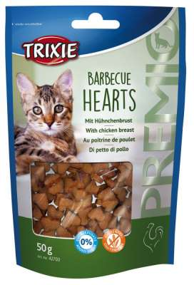 Trixie Premio Barbecue Hearts Hühnerbrust 50 g