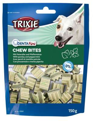 Trixie Denta Fun Chew Bites Denta Fun 150 g Perejil & Mentha piperita