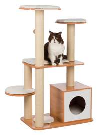 Trixie Laia Wooden Scratching Post  Brown