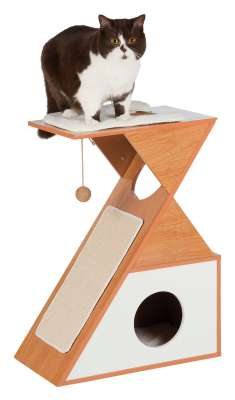 Trixie Leano Wooden Scratching Post Brown 53×30×70 cm