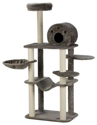 Trixie Fabiola Scratching Post Grey 70×50×165 cm