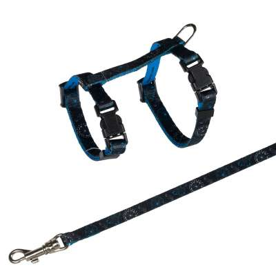 Trixie Kitten Harness with Leash, Nylon  21-33/0.8 cm