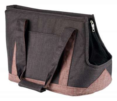 Trixie Sac Hailey, gris/rose 22x31x45 cm