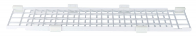 Trixie Protective Grille for Windows, top/bottom panel, extendable 75-125x16 cm