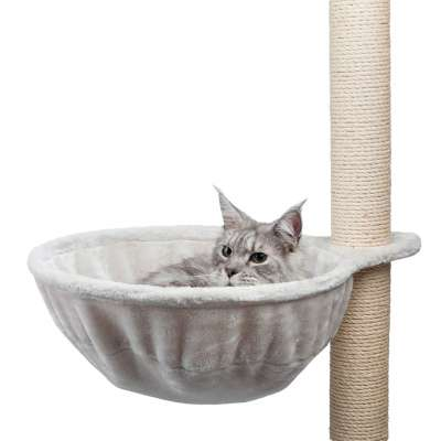 Trixie Cuddly Bag XL for Scratching Posts, extra-strong Light gray 45 cm