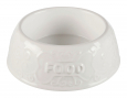 Trixie Ceramic Bowl Food, white 600 ml