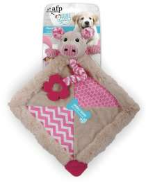 All for Paws Little Buddy Blanky Piggy  Vaaleanpunainen