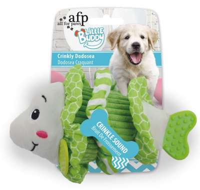 All for Paws Little Buddy Crinkly Dodosea Lys grønn