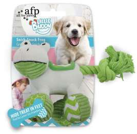 Little Buddy Snick-Snack Frog von All for Paws Hellgrün EAN: 847922042127