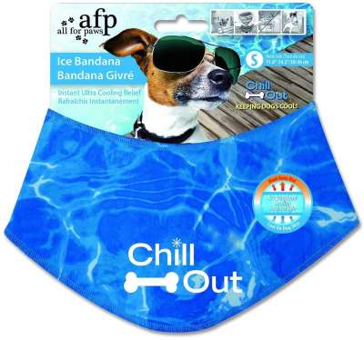All for Paws Chill Out Ice Bandana S Kék