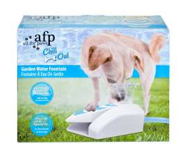 All for Paws Chill Out Garden Fountain 25x22x8 cm pris