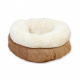 Lamb Donut Bed Tan All for Paws Braun