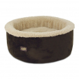 All for Paws Lamb Curl & Cuddle Cat Bed Dunkelbraun profitabel