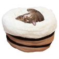Lamb Honey Comb Bed Beige von All for Paws