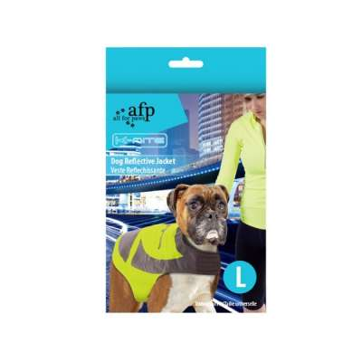 All for Paws K-Nite Dog Reflective Jacket L Gelb