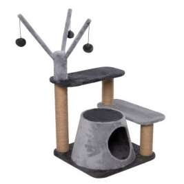 EBI Cat Scratching Tree Trend Poplar  Grey