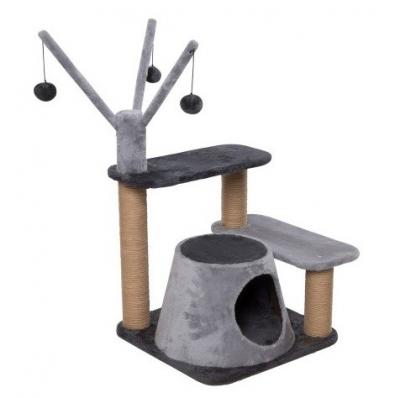 Europet-Bernina Cat Scratching Tree Trend Poplar 45x45x60 cm