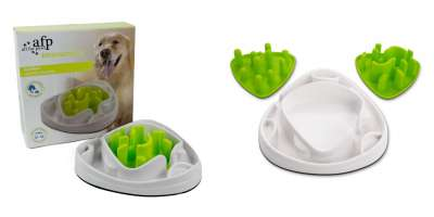All for Paws Interactives Food Maze Lime 28x28x8 cm