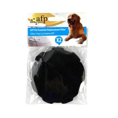 All for Paws Pet Fountain Replacement Filter Cartridges Schwarz
