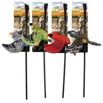 All for Paws Natural Instincts Flying Bird Wand Flying Bird  43x10x4 cm