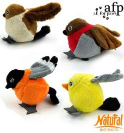 Natural Instincts Ball Bird All for Paws  847922020163