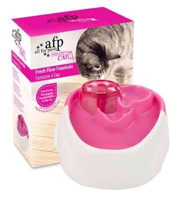 All for Paws Modern Cat Fresh Flow Fountain Rosa 1 l