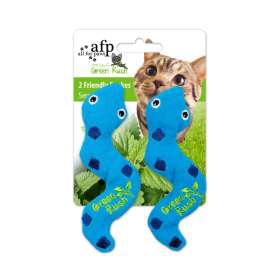 Green Rush Silly Snake All for Paws  0847922024253