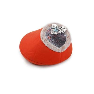 All for Paws Vintage Pet Reversible Cat Bed Neon orange 35x35x28 cm