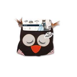 All for Paws Vintage Pet Owl Cat Sack  Dark brown