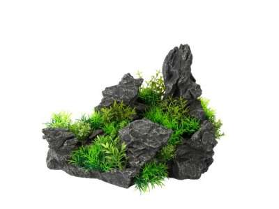 EBI Aqua Della Aquascape Ultimate Rock Dunkelgrau 37x23x24 cm