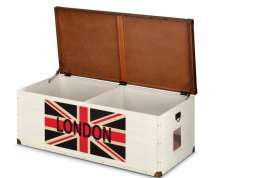 EBI Heartfelt London 120, Traveller chest  Milch 120x56x45 cm  Shop