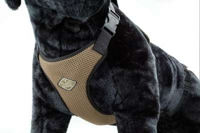 Europet-Bernina D&D Dog Harness All Season Hellbraun L