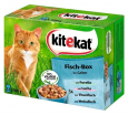 Kitekat Pouches 12 Multipack  – Fish Box in Jelly 12x100 g - Kattmat med fisk