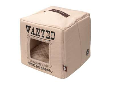 EBI D&D Homecollection Wanted - Pet-Cube Beige 40x40x40 cm