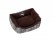 Europet-Bernina D&D Sweet Checker Domino-Bed 53 53x42x18 cm