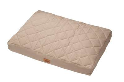 Europet-Bernina D&D Cushion Perfect Quilt sandy 80 Brun clair 80x60/12 cm