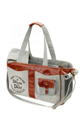 Europet-Bernina D&D Lifestyle Luxury Bag Dream steel-blue Grigio chiaro
