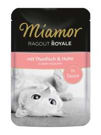 Ragout Royale in Sauce Thunfisch & Huhn Miamor  4000158740717